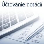 Účtovanie dotácií